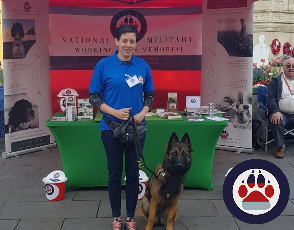 National Military Working Dogs Memorial collection in Lincoln City Centre