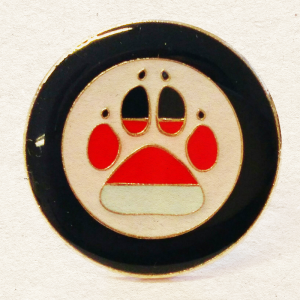 National Military Working Dogs Badge Pin